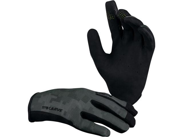 IXS Carve Gloves black/camo